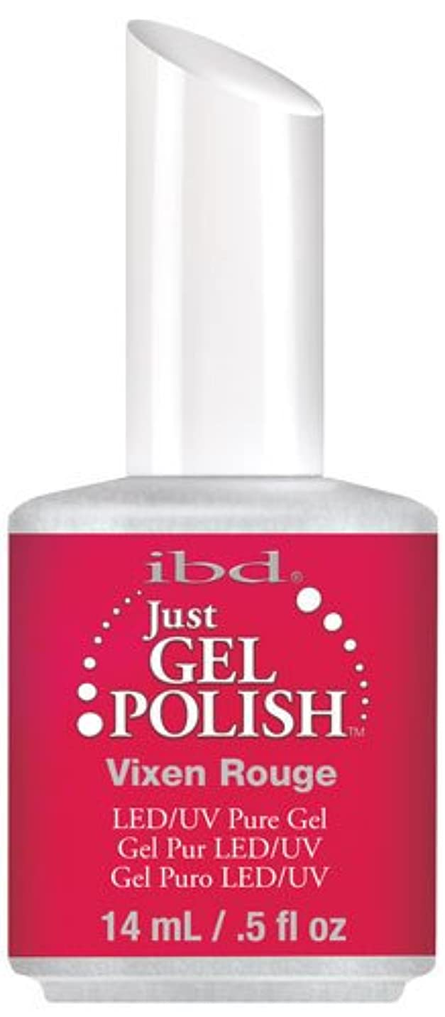 青半島論争的IBD Just Gel Polish - Vixen Rouge - 0.5oz / 14ml