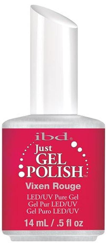 サーフィン補充メダリストIBD Just Gel Polish - Vixen Rouge - 0.5oz / 14ml
