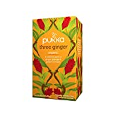 Pukka Organic Three Ginger Herbal Tea, 20 Tea Bag, 36g