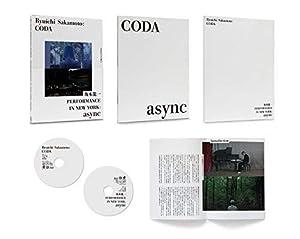 Ryuichi Sakamoto:CODA コレクターズエディション with PERFORMANCE IN NEWYORK:async(初回限定生産) [Blu-ray]