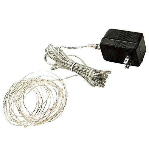 RoomClip商品情報 - コロナ産業 室内用 LED ジュエリーライト ≪ 電球色 50球 ≫ JE50D シルバーコード