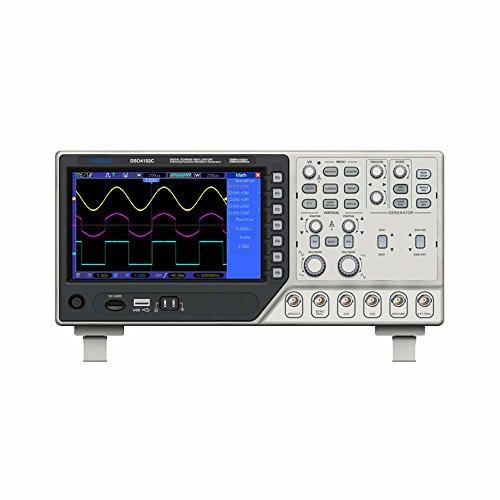 Wiysond DSO4202C ベンチタイプ デジタル・オシロスコープ 2CH 200MHz 帯域幅 1GSa/ s 波形発生器 同期信号 外部トリガ