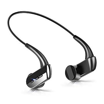 【2019 最新版】Bluetooth イヤホン 骨伝導 ヘッドホン スポーツ 超軽量 高音質 ワイヤレス イヤホン 8時間連続使用 IP66防水 bluetooth ヘッドセット 耳が疲れない ノイズキャンセル ハンズフリー通話 iPhone&Android対応