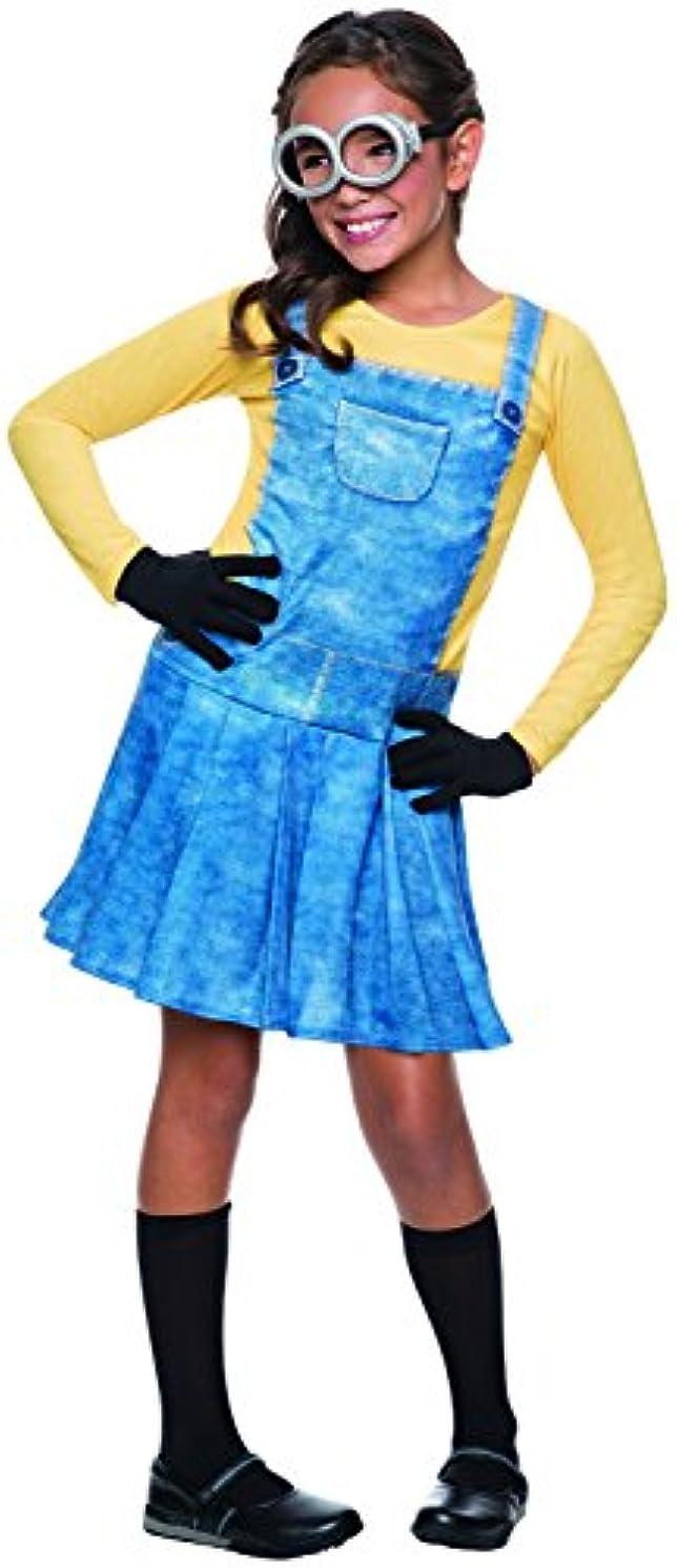 酸少なくとも葉を拾う[Mサイズ] 映画 ミニオンズ ミニオン 女の子用 コスチューム ハロウィン コスプレ コスチューム 衣装 グッズ [並行輸入品]