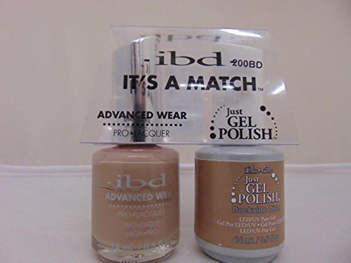 高揚した柔和外観ibd - It's A Match -Duo Pack- Dockside Diva - 14 mL / 0.5 oz Each