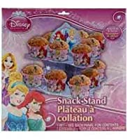 Disney Princess 2 Tier Snack Stand (3 Piece/Pack) - 65315 by UP