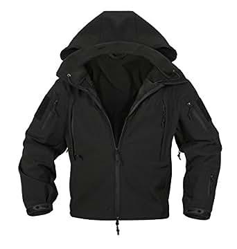 Rothco 防寒タクティカルジャケット (XS, ブラック)