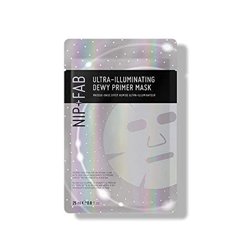 モディッシュ順応性おんどり[Nip & Fab] 超照明結露プライマーマスク25ミリリットルを作るFab +ニップ - NIP+FAB Make Up Ultra-Illuminating Dewy Primer Mask 25ml [並行輸入品]