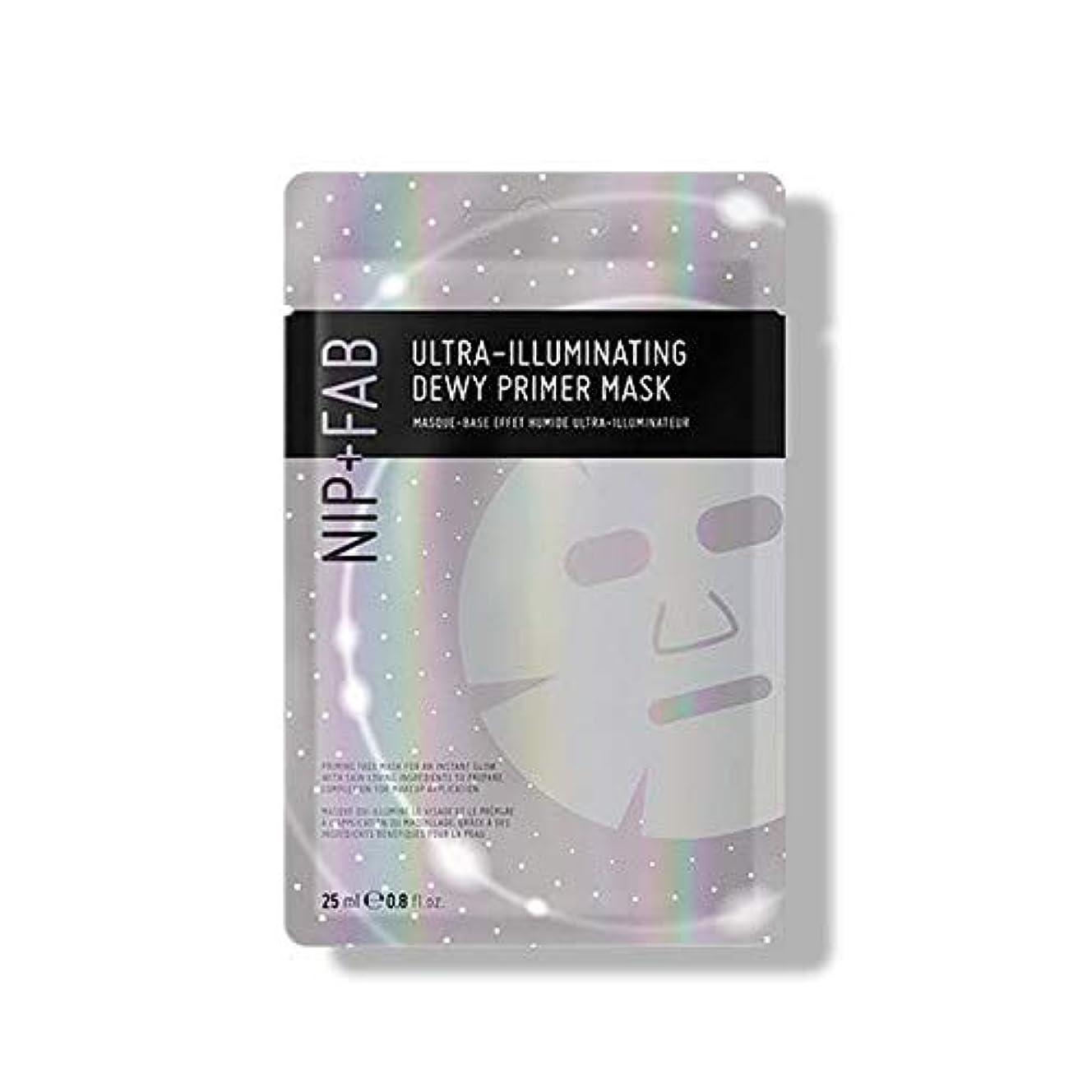 聴覚障害者勧告頼む[Nip & Fab] 超照明結露プライマーマスク25ミリリットルを作るFab +ニップ - NIP+FAB Make Up Ultra-Illuminating Dewy Primer Mask 25ml [並行輸入品]