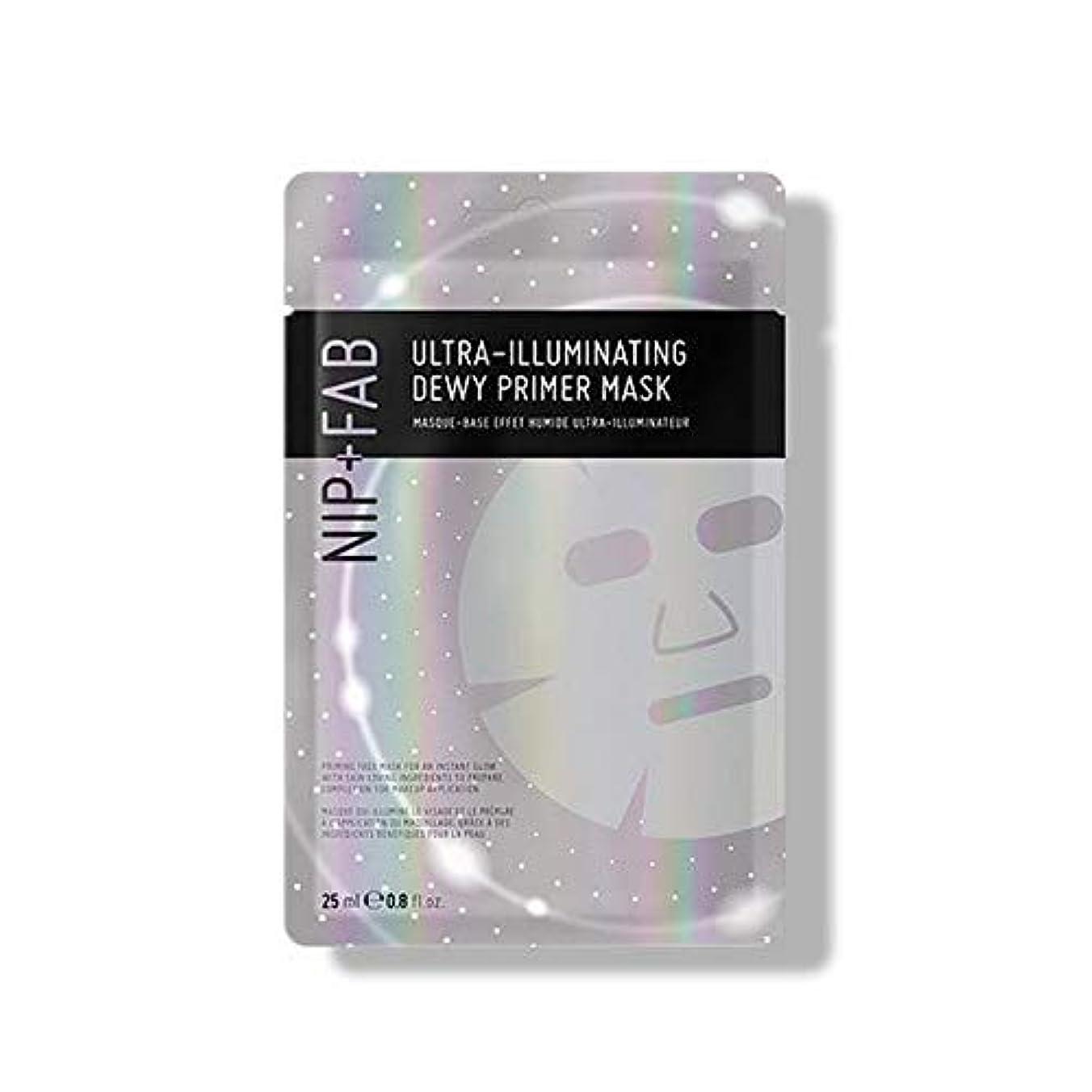 耐えられないブラジャーダイアクリティカル[Nip & Fab] 超照明結露プライマーマスク25ミリリットルを作るFab +ニップ - NIP+FAB Make Up Ultra-Illuminating Dewy Primer Mask 25ml [並行輸入品]