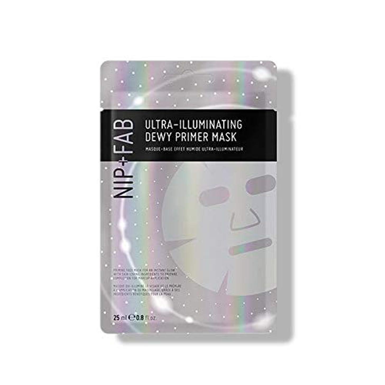 努力アーティキュレーション虫を数える[Nip & Fab] 超照明結露プライマーマスク25ミリリットルを作るFab +ニップ - NIP+FAB Make Up Ultra-Illuminating Dewy Primer Mask 25ml [並行輸入品]