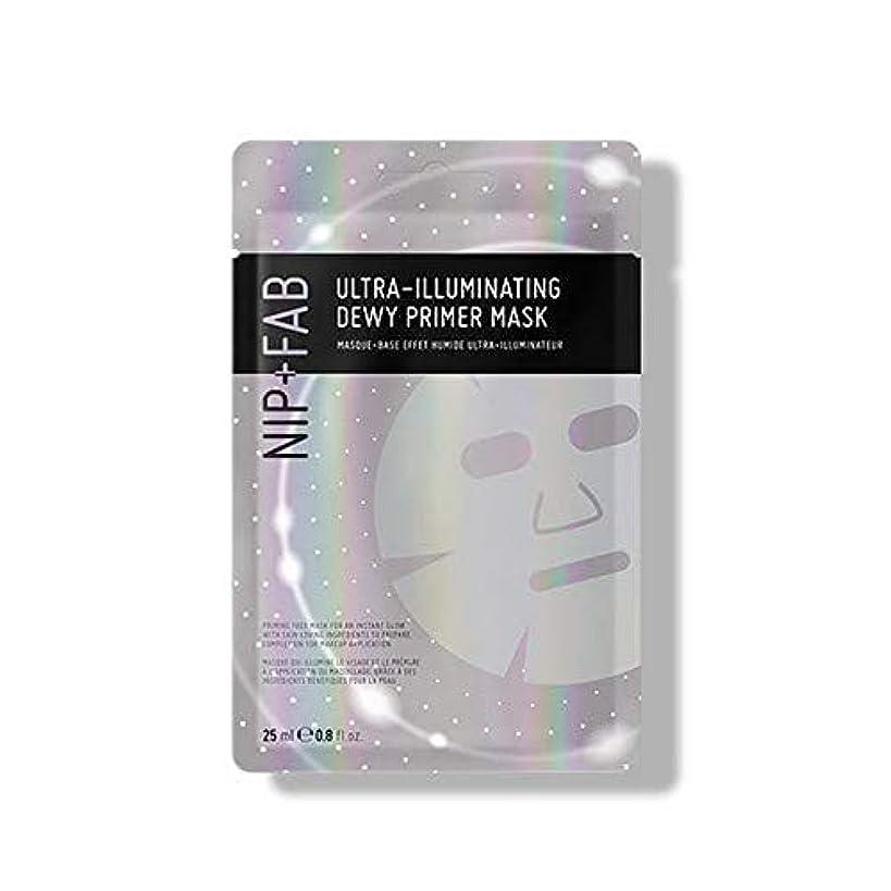 雨ハンドブック番号[Nip & Fab] 超照明結露プライマーマスク25ミリリットルを作るFab +ニップ - NIP+FAB Make Up Ultra-Illuminating Dewy Primer Mask 25ml [並行輸入品]