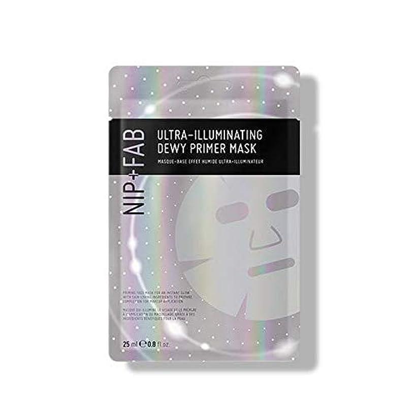 ロケット十分な前述の[Nip & Fab] 超照明結露プライマーマスク25ミリリットルを作るFab +ニップ - NIP+FAB Make Up Ultra-Illuminating Dewy Primer Mask 25ml [並行輸入品]