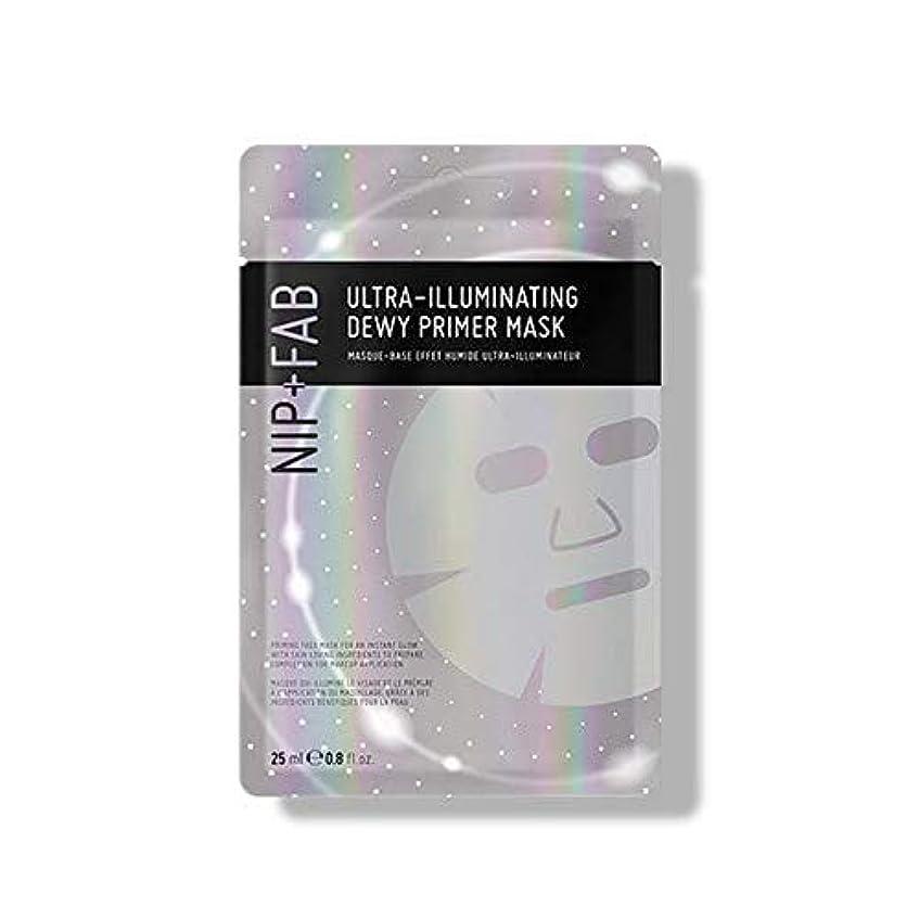 わずらわしいアウトドア文明化する[Nip & Fab] 超照明結露プライマーマスク25ミリリットルを作るFab +ニップ - NIP+FAB Make Up Ultra-Illuminating Dewy Primer Mask 25ml [並行輸入品]