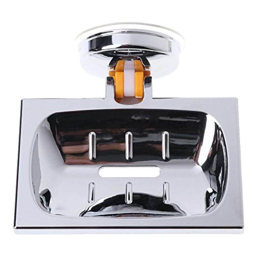 メロディーレモン特定のLamdooウォールサクションカップバスルームバスシャワーコンテナソープディッシュホルダーケースバスケット01
