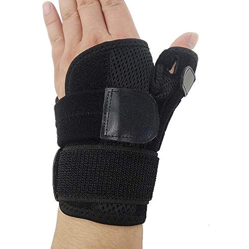 狭い熟す頻繁にZYL-YL ブレーサー親指脊椎骨折母の手の固定具手首Heelingsスチールバーのサポートハンドスプリント (Edition : Left)