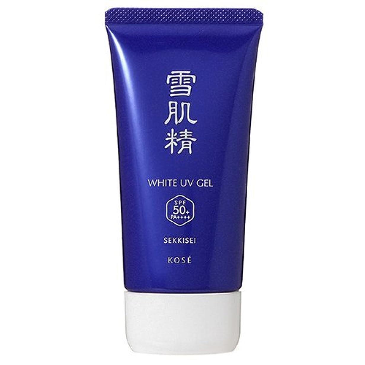 禁輸捨てる表面コーセー 雪肌精 ホワイト UV ジェル SPF50+/PA++++ 80g