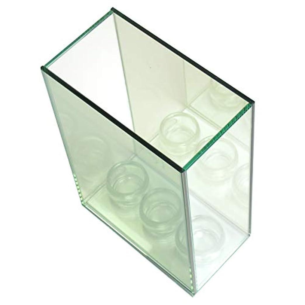 ワットネストとは異なり無限連鎖キャンドルホルダー 3連 ガラス キャンドルスタンド ランタン 誕生日 ティーライトキャンドル