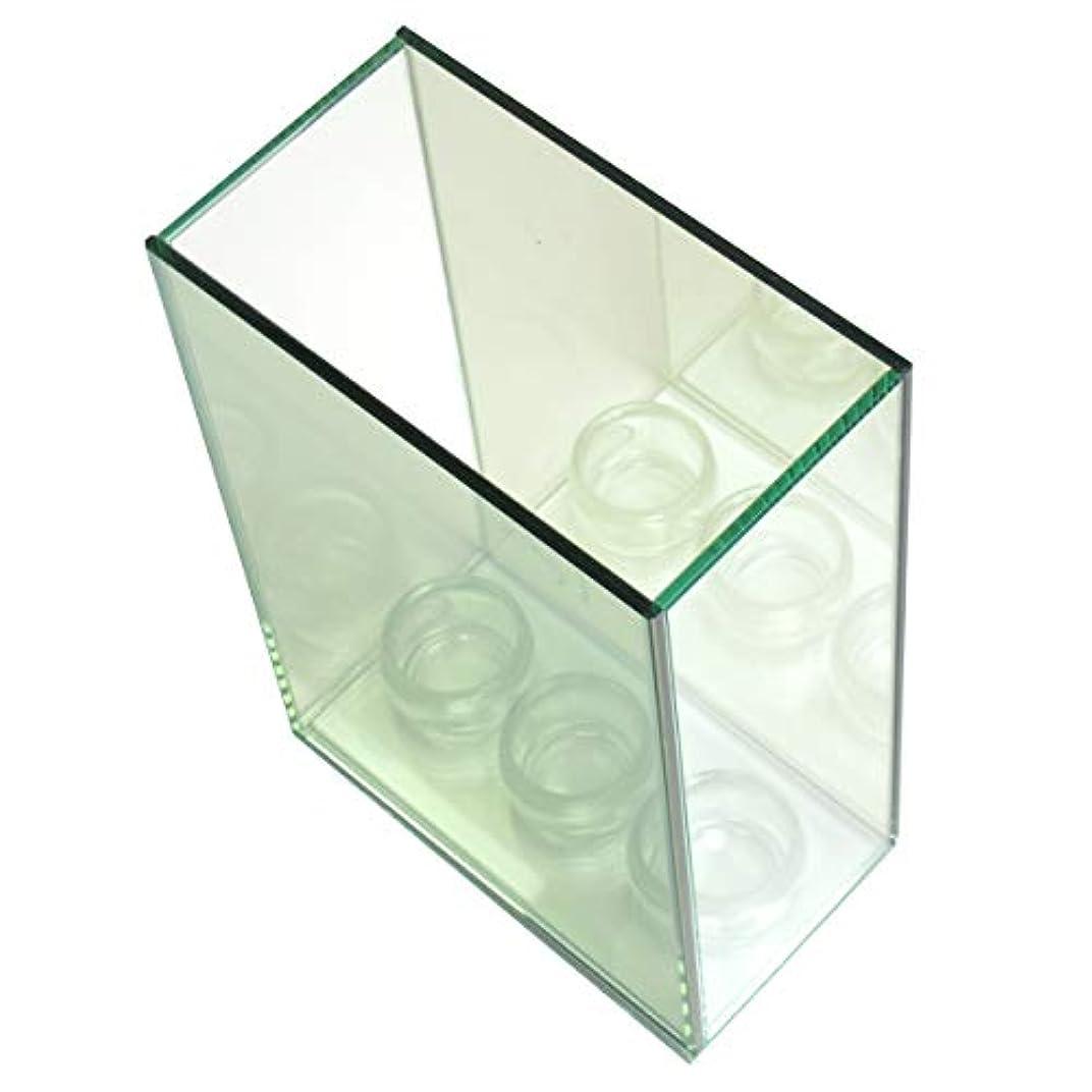バング接地呼吸する無限連鎖キャンドルホルダー 3連 ガラス キャンドルスタンド ランタン 誕生日 ティーライトキャンドル