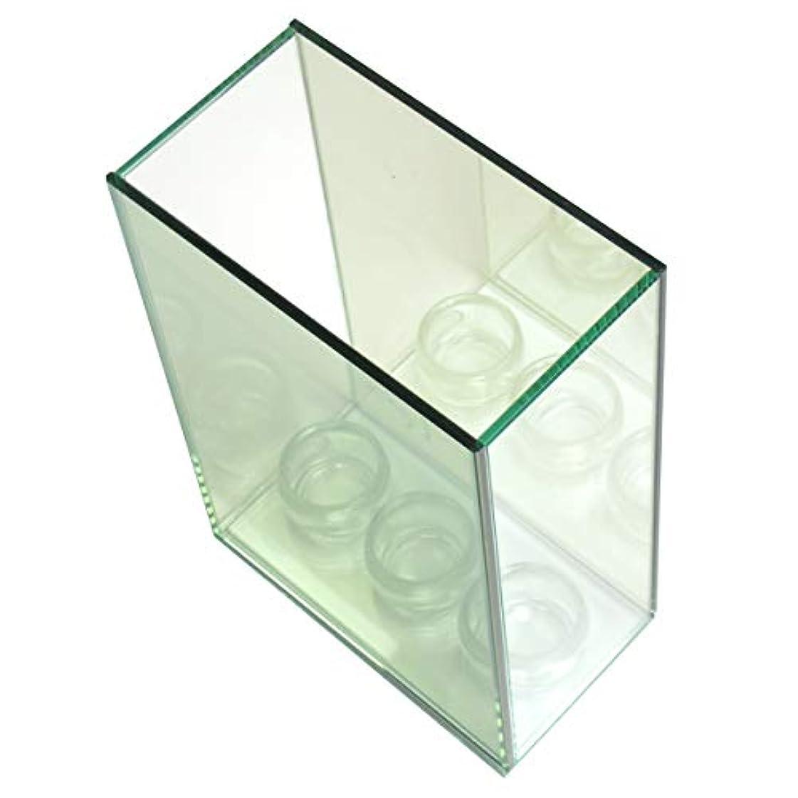 舌な主観的カセット無限連鎖キャンドルホルダー 3連 ガラス キャンドルスタンド ランタン 誕生日 ティーライトキャンドル