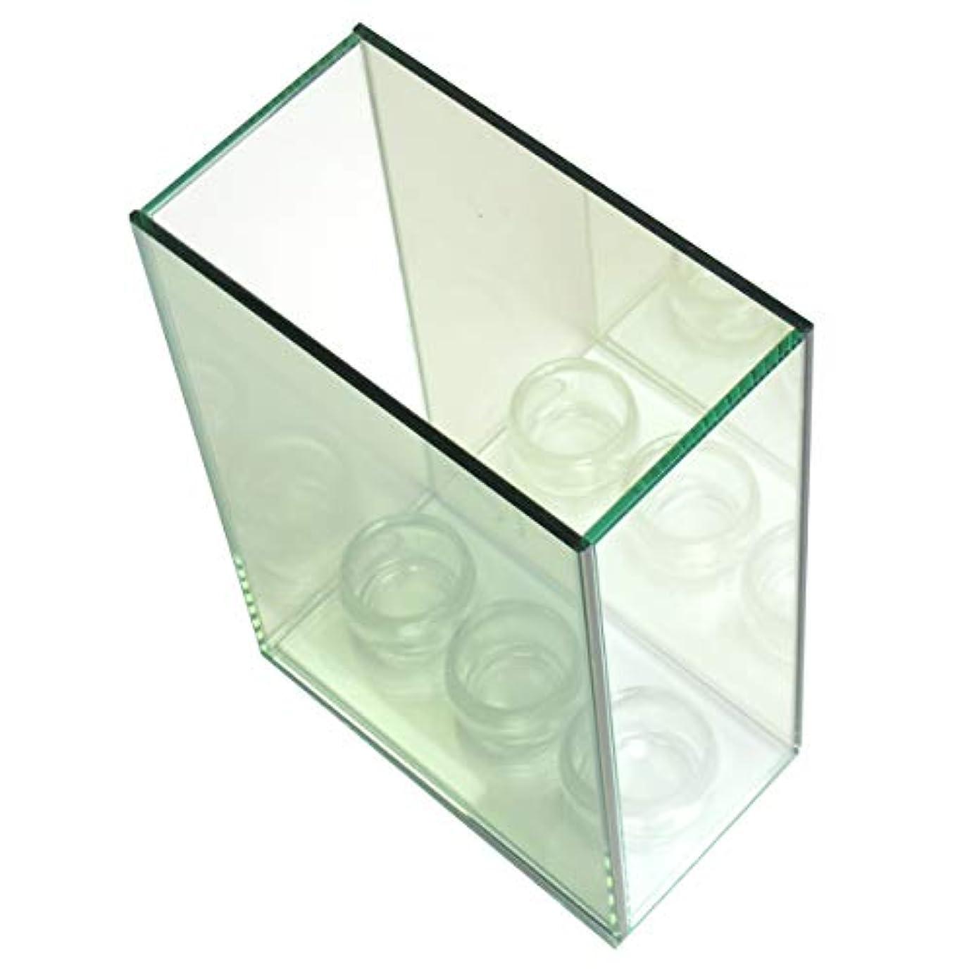 無限連鎖キャンドルホルダー 3連 ガラス キャンドルスタンド ランタン 誕生日 ティーライトキャンドル