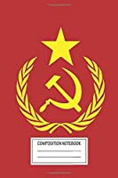 """Notebook: Communist Flag , Journal for Writing, Size 6"""" x 9"""", 164 Pages"""