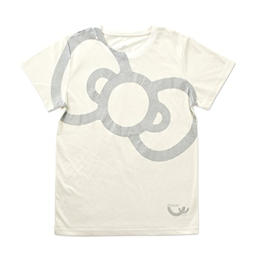 SAN-EI(サンエイ) WAPPER(ワッパー)ハローキティコラボ Tシャツ/ ビッグリボン ホワイト L/26-120-025