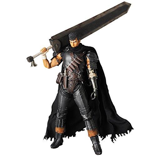 RAH(リアルアクションヒーローズ) ガッツ 黒い剣士Ver. (1/6スケール ABS&ATBC-PVC塗装済み可動フィギュア)