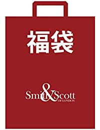 (スミスアンドスコット) Smith & Scott 福袋 メンズ 2018 ポリ ネクタイ 3本 ニットタイ 2本 セット マフラー シルク ポケットチーフ 合計 5点 セット