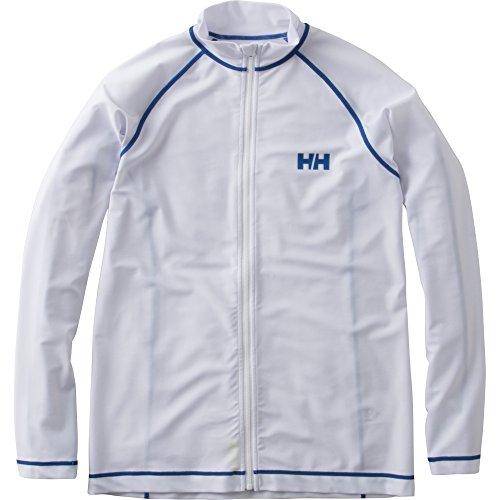HELLYHANSEN(ヘリーハンセン)水着L/SFULL-ZIPRASHGUARD(L/Sフルジップラッシュガード)ホワイト(W)LサイズHE81603