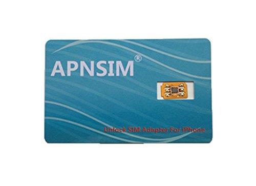 音声発信/4G-LTE通信対応APNSIM docomo、au、SoftBankのiPhone X/8/8Plus/7/7Plus/6s/6sPlus/6/6Plus/se SIMロック解除アダプタ/SIM Unlock(GPPLTE IC仕様)