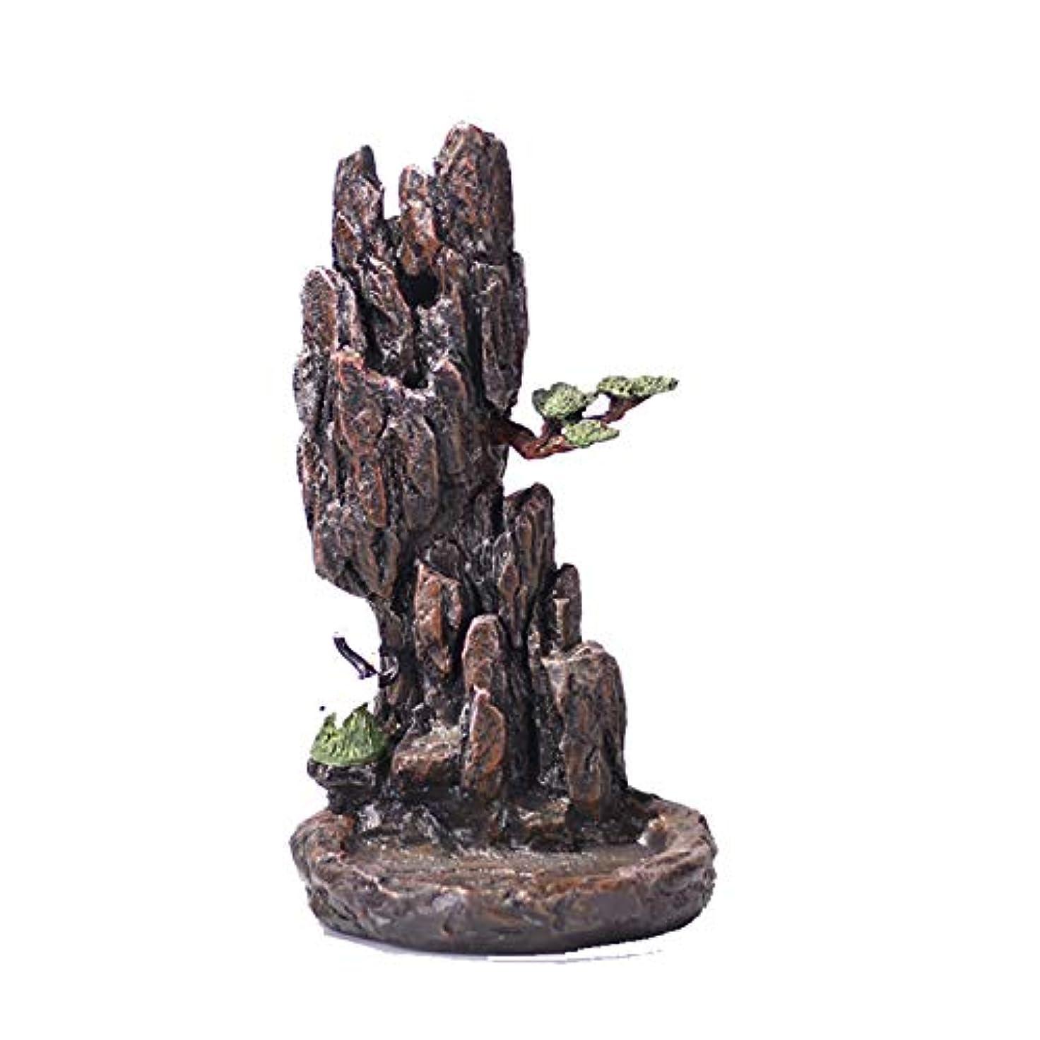 外国人ビーズ麻痺させるXPPXPP Backflow Incense Burner, Household Ceramic Returning Cone-shaped Candlestick Burner