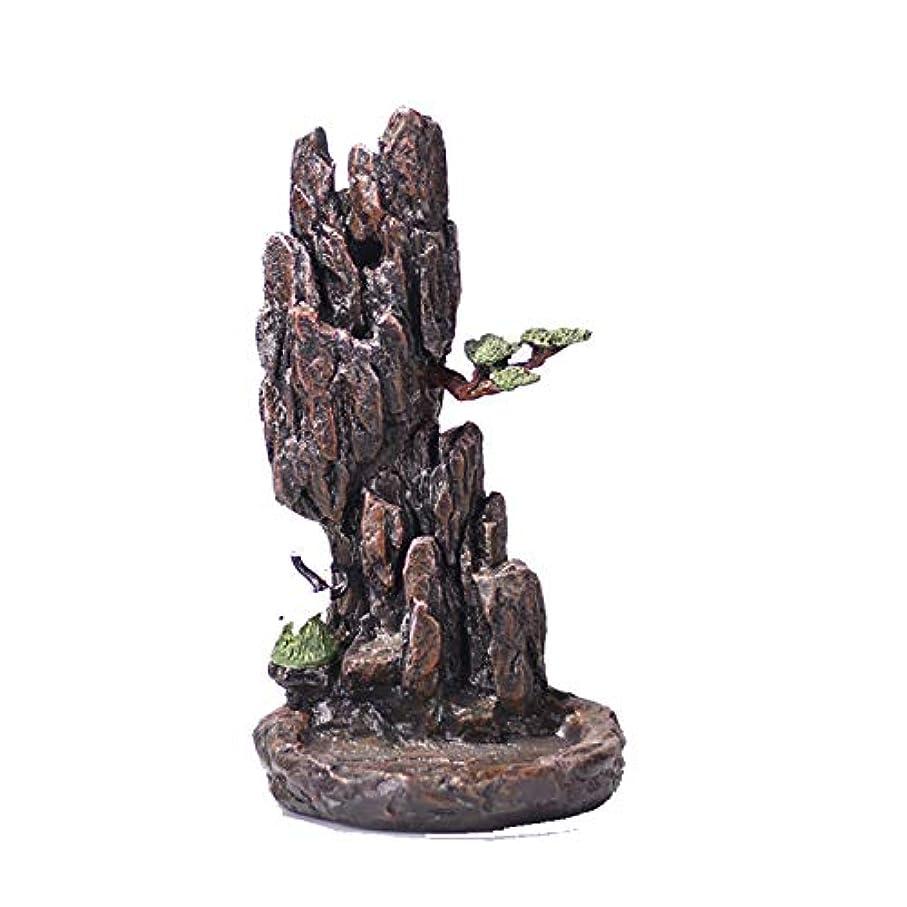 破滅業界の中でXPPXPP Backflow Incense Burner, Household Ceramic Returning Cone-shaped Candlestick Burner