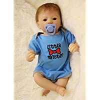 Best Choice 20インチRebornベビー新生児キッズ誕生日ギフトのシリコン赤ちゃん人形Boy withブルー服キッズ誕生日ギフト