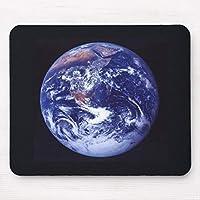 地球ののアポロ17宇宙の眺め 20X25CM マウスパッド オフィス おしゃれ パソコン PC 周辺機器 マウス用パッド マウス マウス敷 マウスパット パソコン作業