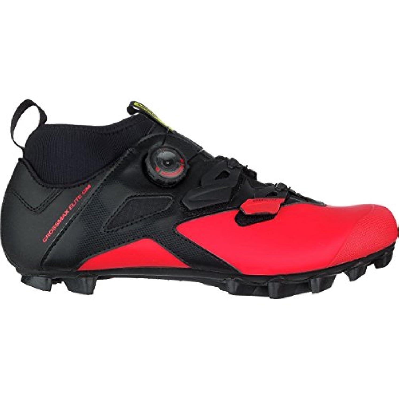 偶然酸化するスパイラルMavic Crossmax Elite CM Shoe – Men 's Black/Fiery Red/ブラック、US 11.5 / UK 11.0