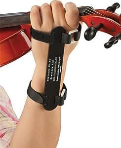 (大人用、ブラック) 左手首を正しいフォームに矯正する練習器具 Virtuoso Wrist Practice Aid