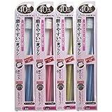 歯ブラシ職人 田辺重吉 40代からの磨きやすい歯ブラシ 先細毛タイプ LT-15(1本×4個セット)