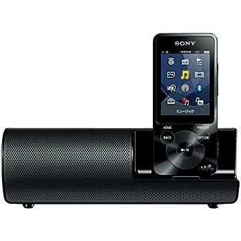 ソニー SONY ウォークマン Sシリーズ NW-S14K : 8GB Bluetooth対応 イヤホン/スピーカー付属 2014年モデル ブラック NW-S14K B