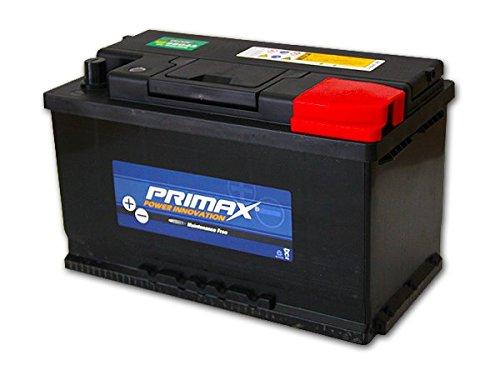 送料無料 即日発送 新品バッテリー PRIMAX MF58043 80AH ベンツ BMW フォルクスワーゲン アウディ ジャガー 適合品