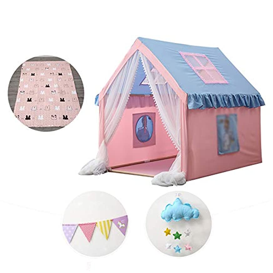 道徳の分解するテント子供の遊びのテント、子供の遊び場のテント - 屋外と屋内の遊び場のテント - 1-8歳児用,C