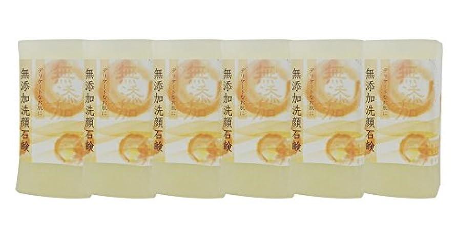 ブラジャー天に付ける無添加洗顔石鹸 150g(6個入り)