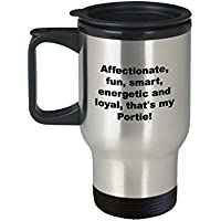 Funnyポルトガル水犬旅行コーヒーマグ–Affectionate、楽しい、スマート、エネルギッシュand Loyal that 's My Portie