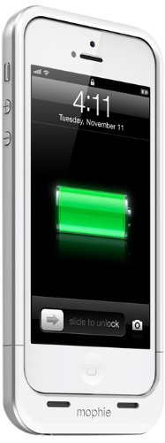 mophie Juice Pack Air for iPhone 5/5s/5se (1,700mAh) - White by mophie