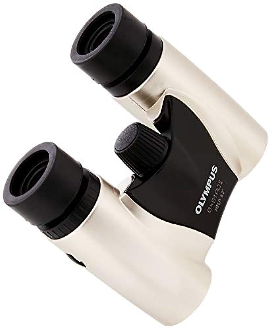 悲観的面白いプレビスサイトOLYMPUS ダハプリズム双眼鏡 8x21 RCII シャンパンゴールド 小型軽量モデル