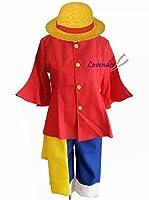 【プロバンスのラベンダー】モンキーD・ルフィ 船長 コスプレ衣装 イベント 仮装 ハロウイン クリスマス 文化祭 オーダーメイド可能