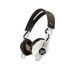ゼンハイザー ノイズキャンセリング機能搭載 ワイヤレス Bluetooth 密閉型ヘッドホン MOMENTUM On-Ear Wireless Ivory M2 OEBT IVORY【国内正規品】
