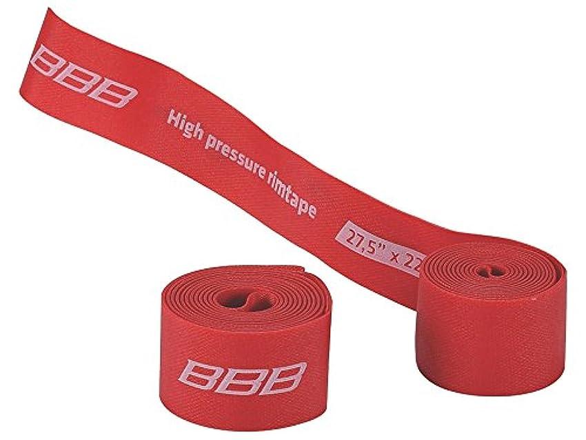 道徳残基終了しましたBBB BTI-94 リムテープ 2本入り レッド 27.5 x22mm 703035
