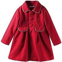 LittleSpring Little Girls' Dress Coat