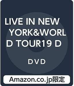 【Amazon.co.jp限定】LIVE IN NEW YORK&WORLD TOUR19 DOCUMENTARY  THE NINTH [99.999](DVD)(三方背収納ケース付)